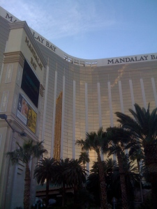 Time to head to Mandalay Bay and get a tour of House Of Blues.