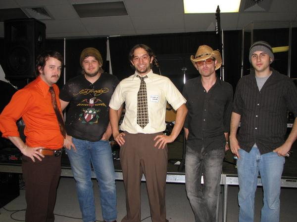 The Band On Halloween