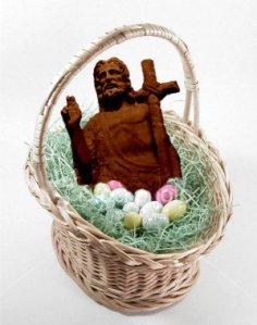 Chocolate Easter Jesus