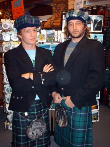 Me And Tate In Kilts