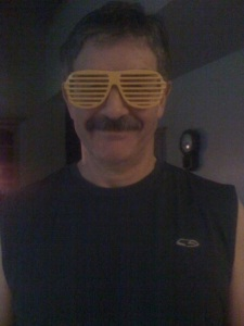 Dad In Awesome Glasses