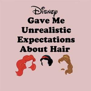 Disney Hair Expectations